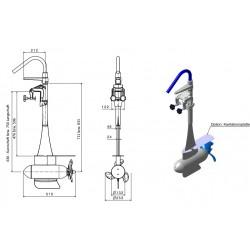 Trend 4.3FM  Sähkö perämoottori  11 HP  integroitu litiumakku