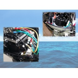 Sisäinen Sähkövenemoottori 30HP paketti